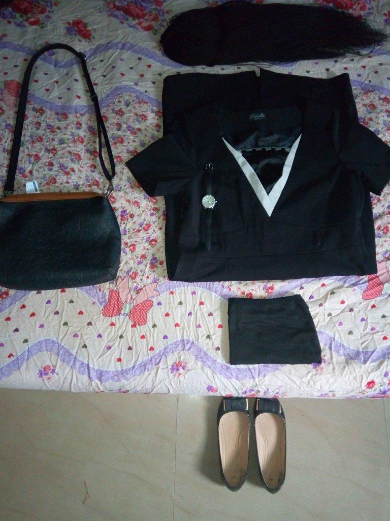 Interview dressing